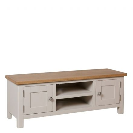 Richmond Painted Oak Large TV Unit